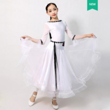 Dance-Dresses Dancing-Skirt Ballroom Classical Standard Waltz Competition Girl's Children