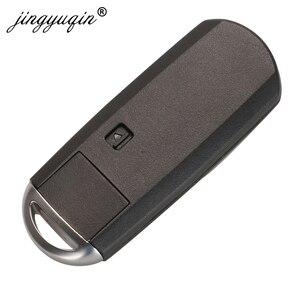 Image 4 - jingyuqin 433Mhz ID49 2/3 Buttons Smart Key Fit for MAZDA CX 3 Axela CX 5 Atenza Model SKE13E 01 SKE13E 02 Car Remote Control