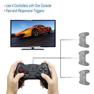 Image 3 - Bluetooth Draadloze Pro Controller Remote Gamepad Voor Nintend Schakelaar Pro Console Voor Ns Voor Pc Controle Joystick