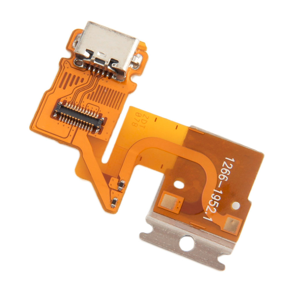 New Arrival Flex Cabel USB Charging Connector Port Cable For Sony Xperia Tablet Z SGP311 SGP312 SGP321 Drop Shipping