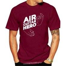 Homens tshirt Air Guitar Hero Guitarra de Ar T Shirt(3) Impresso T-shirt T-shirt top