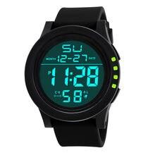 Led étanche numérique Quartz montre de mode militaire Sport hommes 2020 hommes Sport chronométrage montre intelligente montre électronique
