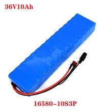 36v 10ah 600watt 10s3p bateria de íon lítio 20a bms para xiaomi mijia m365 pro ebike bicicleta scoot t plug frete grátis