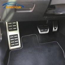 Xburstcar Auto Zubehör Auto Styling Sport Kraftstoff Bremse Toten Pedal Abdeckung Set DSG für Audi A3 S3 8V RS3 cabrio