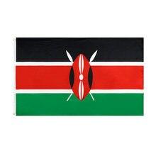 WN 60X90 90X150cm Ken Ke bandiera Kenya per la decorazione