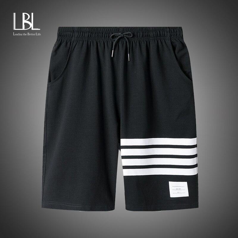 Short d'été en coton respirant pour homme, 2020, Short de Fitness, de plage, d'entraînement, de gymnastique, avec cordon de serrage