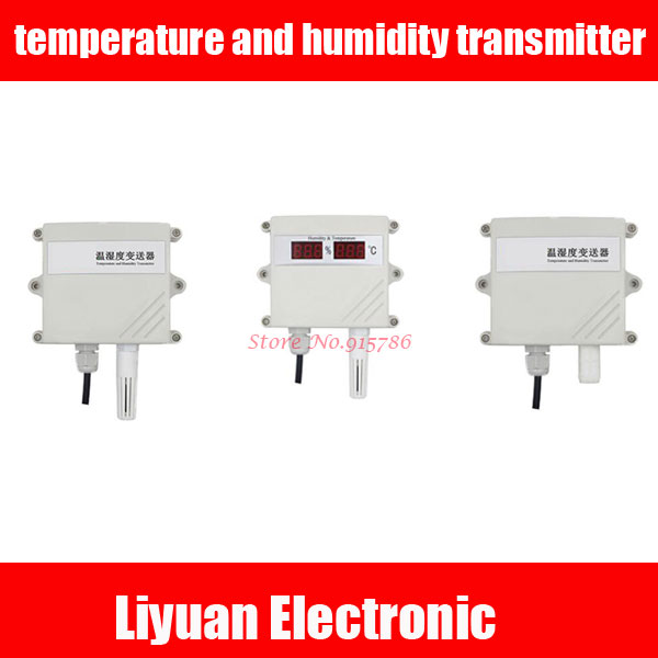 Высокоточный датчик температуры и влажности/аналоговый датчик температуры и влажности 4-20 мА/выход RS485 0-5 в 0-10 в