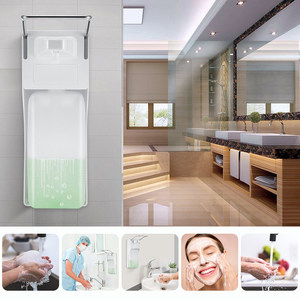 Image 2 - 1000ml Elbow Disinfection Dispenser Wall Mounted Soap Dispenser Spray Hand Sterilizer Manual Type Medical Device