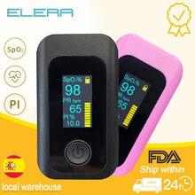 2020 New! Alarm Finger Oximeter OLED Pulse Oximeter Portable Pulsioximetro SPO2 PR PI Oximetro De Dedo Digital Oximeter a Finger