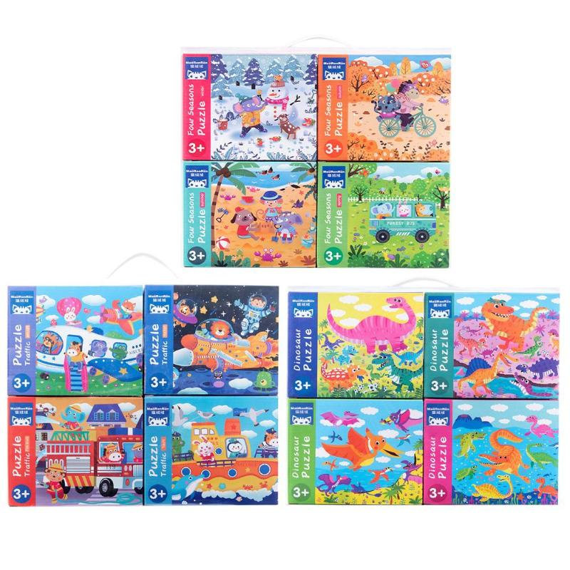 Puzzle Game Baby Jigsaw Children Wooden Educational Toys Cognitive Boards