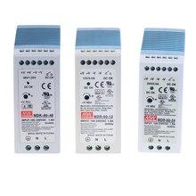 MDR 60 salida única de 60W 5V 12V 15V 24V Din carril de conmutación fuente de alimentación AC/DC