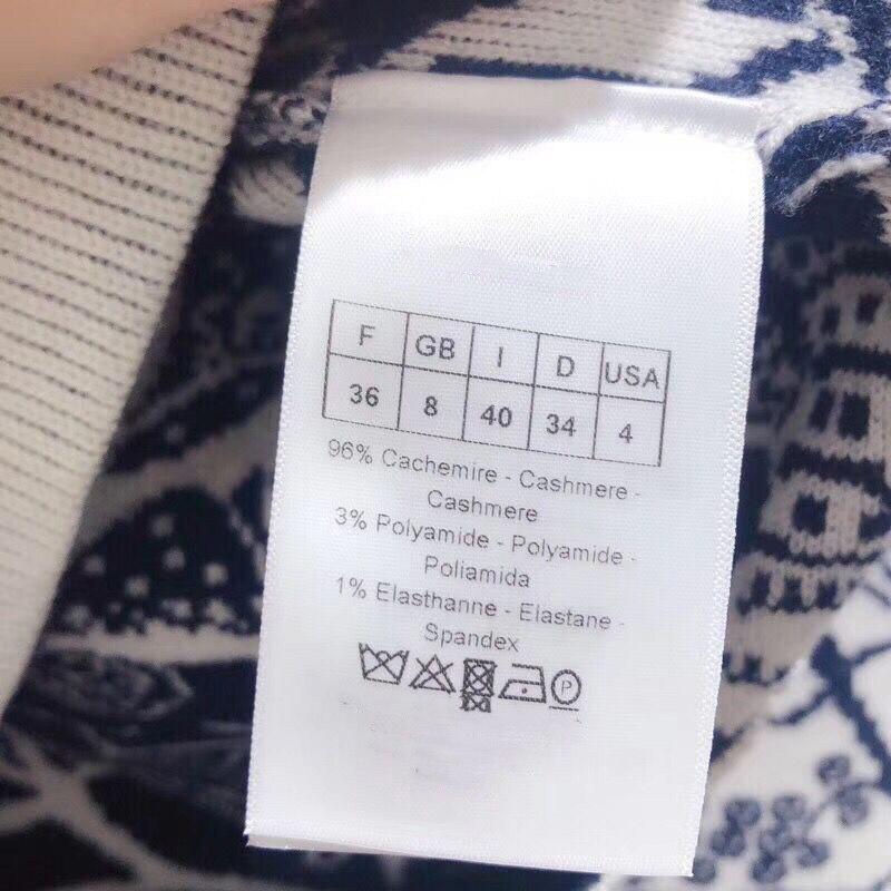 LINGHAN primavera sketch modello delicato ricamo fascia cachemire mescolato maglione di alta qualità casuale a maniche lunghe maglione - 6