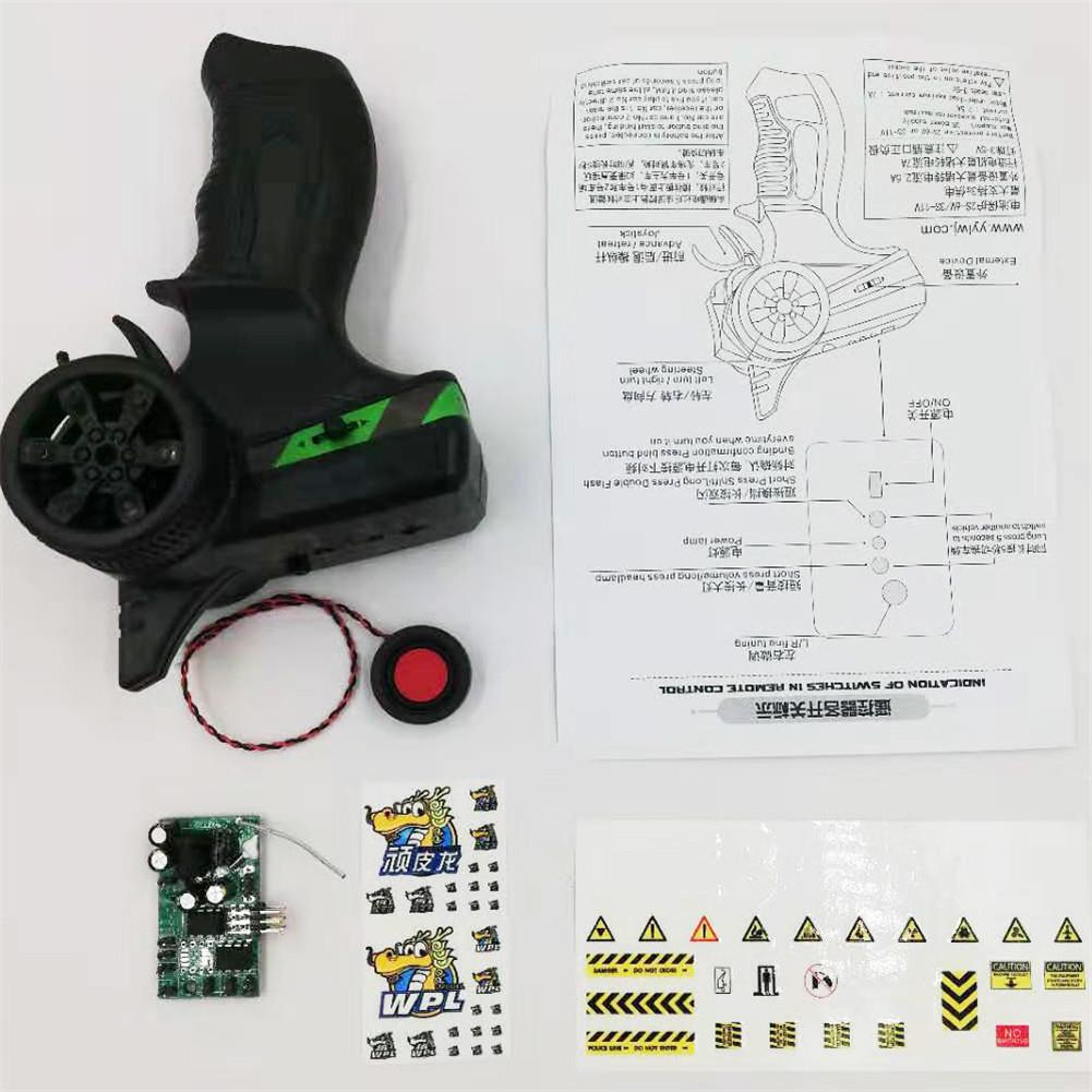 The Second Generation Sound Group Upgraded Accessories For WPL B-14 B16 B-36 RC Car&MN RC Models