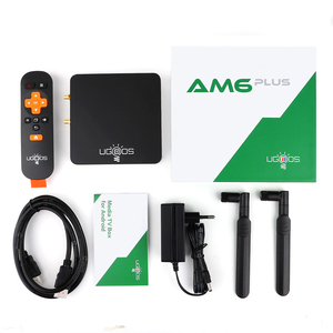 Image 5 - UGOOS AM6 Plus DDR4 4GB 32GB Amlogic S922X J صندوق التلفزيون أندرويد 9.0 مربع التلفزيون الذكية دعم 4K المزدوج واي فاي 1000 متر بلوتوث مشغل الوسائط