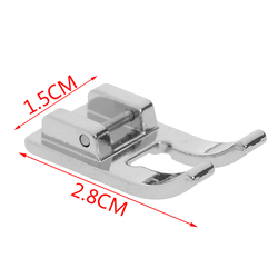 1PCS Foot For Brother Electric Sewing Machine Sewing Parts Ordinary Opening Presser Foot Patch Embroidery Stitch Presser