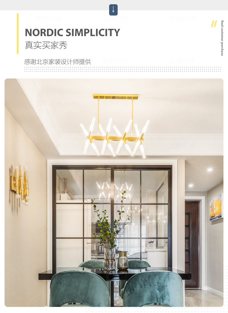 24 lampadari cucina per arredare la casa con la luce. Modern Luxury Restaurant Led Chandelier Lighting Black Gold Long Head Suspension Lamp Kitchen Restaurant Chandelier Lighting Pendant Lights Aliexpress