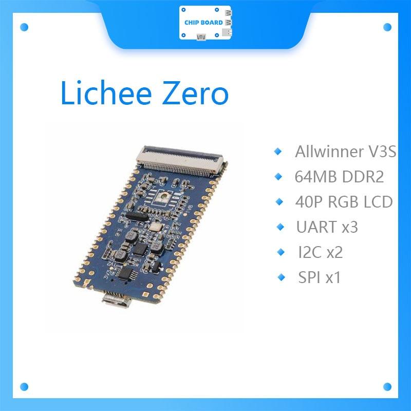 Sipeed Lichee Pi Zero 1,2 GHz Cortex-A7 512Mbit DDR allwinner v3s Placa de núcleo Placa de desarrollo Mini PC