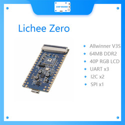 sipeed Lichee Pi Zero 1.2GHz Cortex-A7 512Mbit DDR allwinner v3s Core Board Development Board Mini PC
