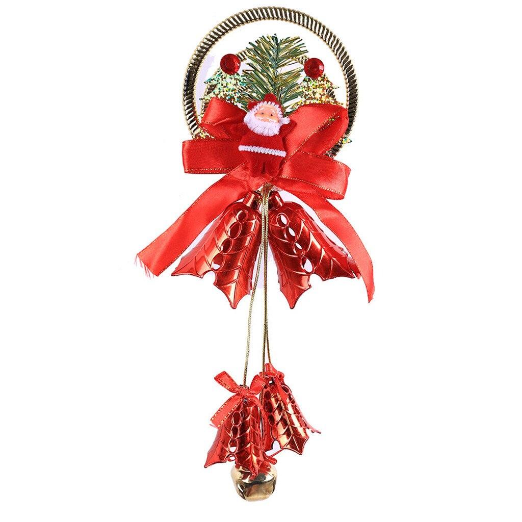 Рождественский колокольчик декоративная подвесная Елочная игрушка подвесное украшение домашний декор - Цвет: C
