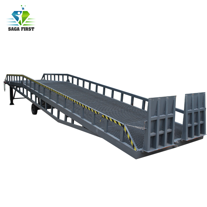 Manual Lifting Mobile Dock Ramp With CE Certified