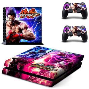 Image 5 - משחק Tekken 7 PS4 מדבקות לשחק תחנת 4 עור מדבקת מדבקות עבור פלייסטיישן 4 PS4 קונסולה ובקר עורות ויניל
