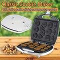 Электрическая машина для выпечки печенья  бытовая машинка для печенья  бра  машина для завтрака  вафельный торт  сковорода для выпечки  маши...