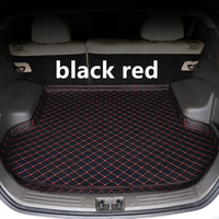 SJ High Side Waterproof Car Trunk Mat AUTO Tail Boot Tray Liner Cargo Rear Pad Accessories For Chevrolet Malibu 2012 13 14 2019