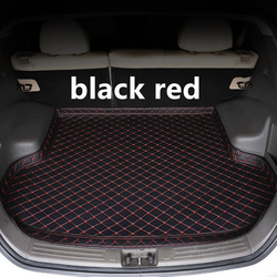 SJ High Side wodoodporna mata bagażnika samochodowego AUTO Tail Boot Tray Liner Cargo tylne części Pad akcesoria do AUDI Q5 2009 2010 2011 2019 -