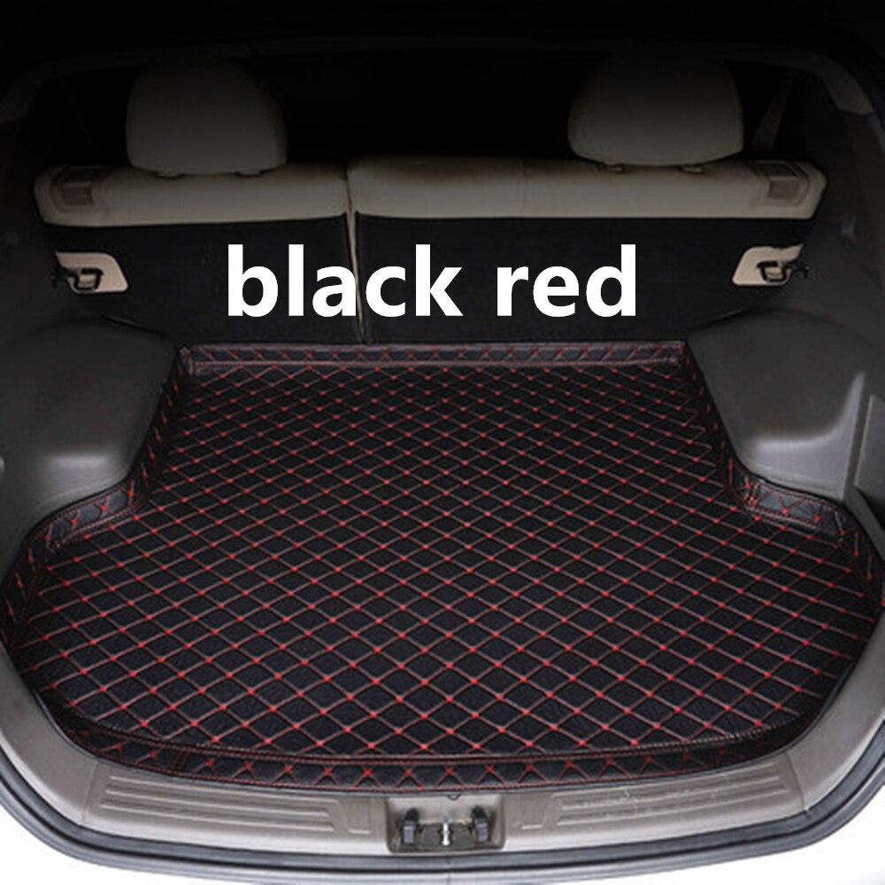 SJ yüksek yan su geçirmez araba gövde mat oto kuyruk Boot tepsi Liner kargo arka ped parçaları aksesuarları Peugeot 4008 2016 2017 2019 title=