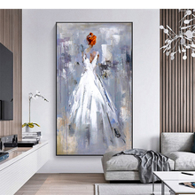 100% Hand Painted Abstract Romanticism Art Painting On Canvas Wall Art Wall Adornment Pictures Painting For Live Room Home Decor rethinking romanticism