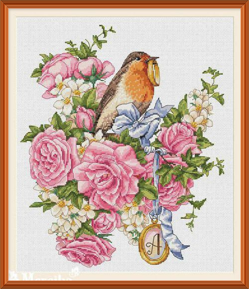 Gold Collection Counted Cross Stitch Kit Cross stitch RS cotton with cross stitch <font><b>Merejka</b></font> K-27 image