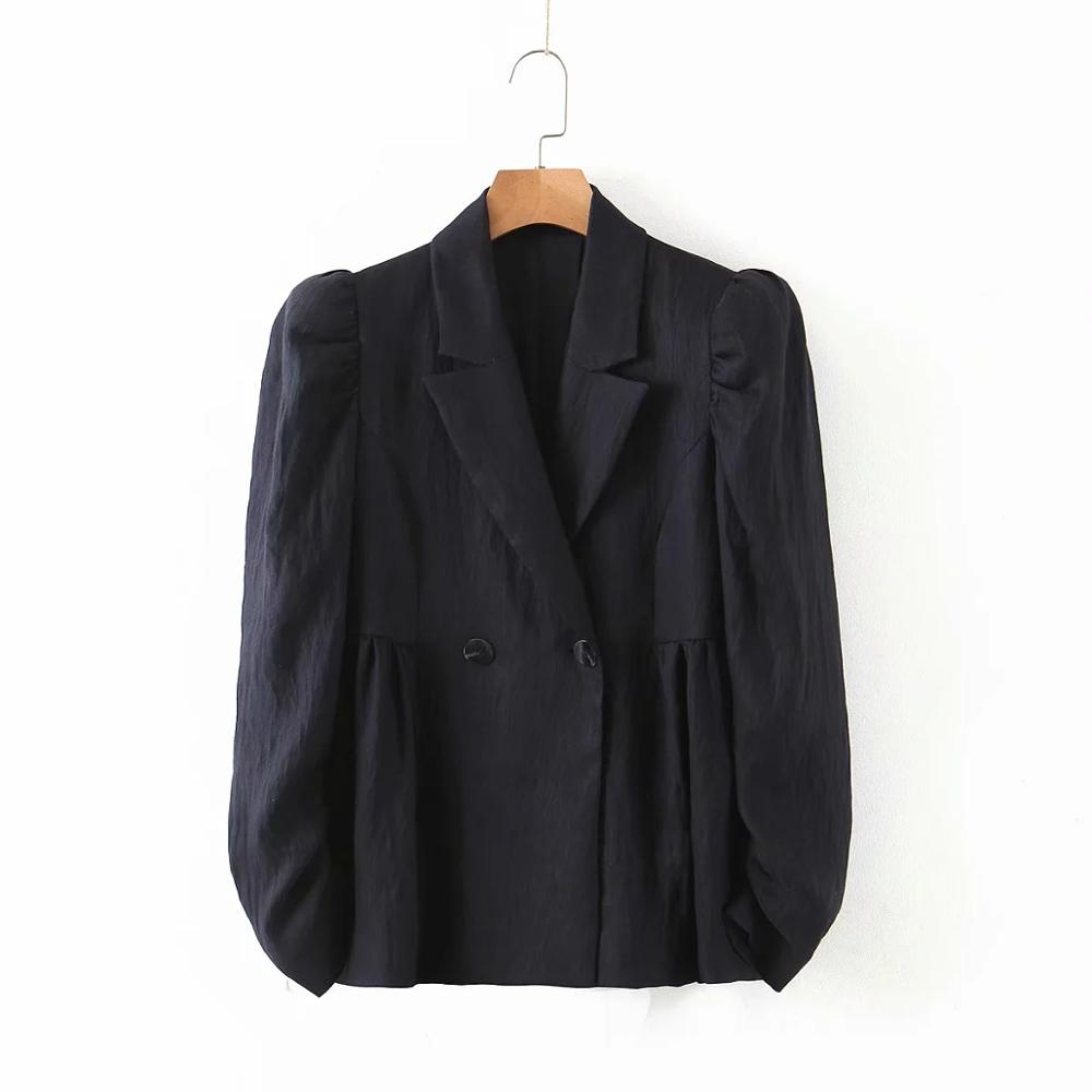 2020 england office lady vintage black casual women blazer feminino blazer women suit pants women trousers women 2 pieces set