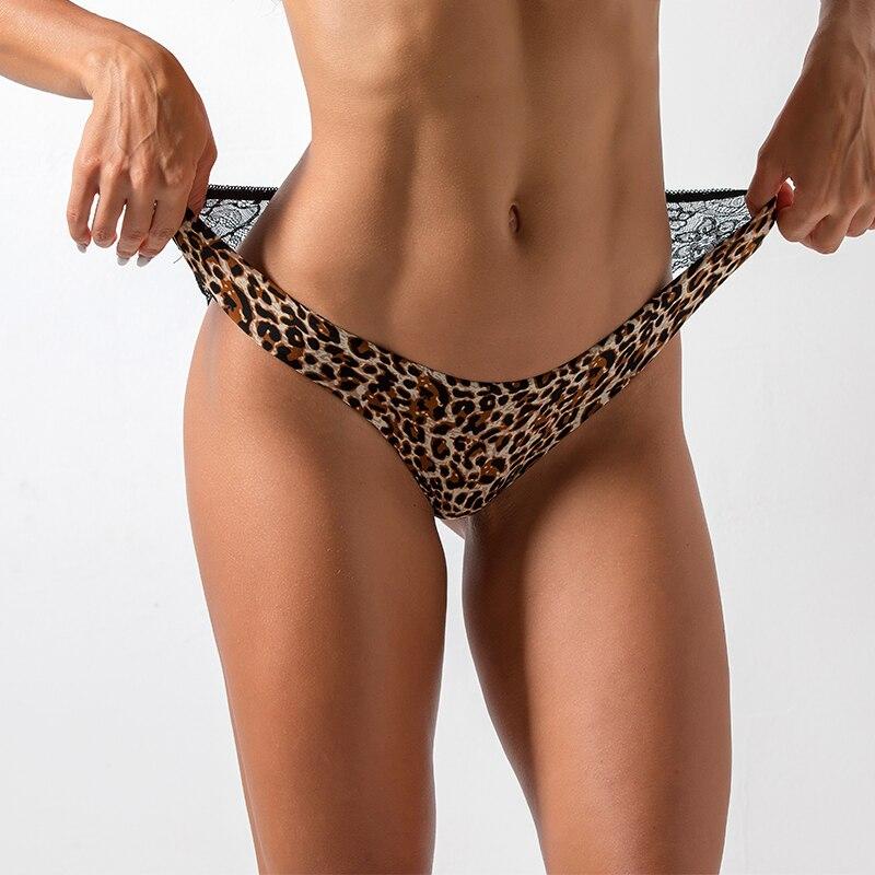 Ladies Underwear Woman Panties Sexy Lace Plus Size Panty Transparent Low-Rise Cotton Briefs Intimates New  1/2 Pcs