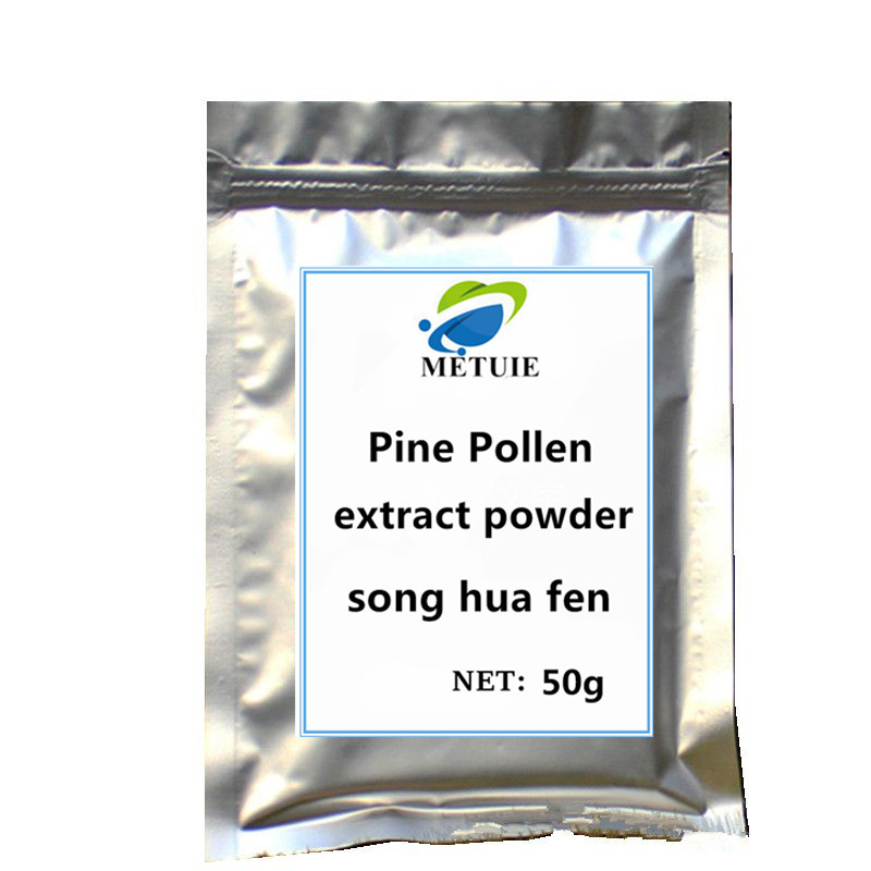 2020 High quality Pine Pollen Powder extract 1pc Sexual function festival top pre workout weight gain supplement muscular body. image