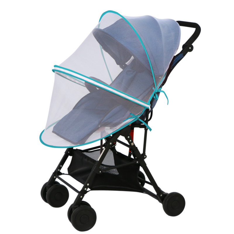 Stroller Pushchair Cart Mosquito Insect Net Infants Baby Safe Mesh Buggy Crib Netting