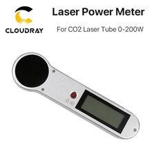 Cloudray medidor de potência handheld 0 200 w HLP 200 do tubo do laser do co2 para a gravura do laser e a máquina de corte
