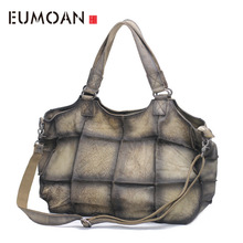 цена на EUMOAN The first layer of leather leather handmade Mature female atmosphere shoulder shoulder Messenger bag Europe and the Unite
