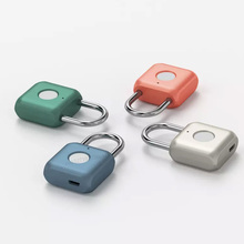 Youpin USB Rechargeable Smart Keyless Electronic Fingerprint Lock Home Anti theft Safety Security padlock Door Luggage Case lock