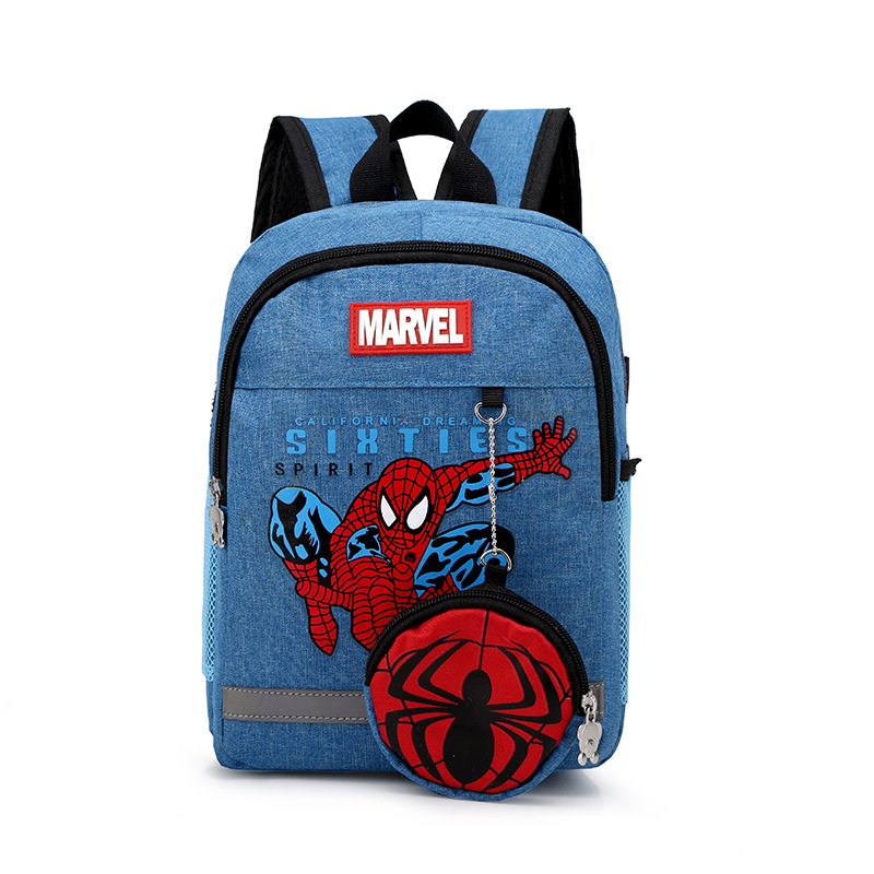 2019 New Fashion Children's Spider Bag Cartoon Backpack Baby Toddler Children Backpack Kindergarten Boy Girl Backpack 3-9 Years