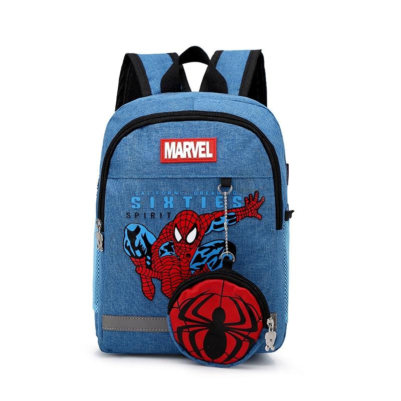 2019 New Fashion Children's Spider Bag Cartoon Backpack Baby Toddler Children Backpack Kindergarten Boy Girl Backpack 3-9 Years
