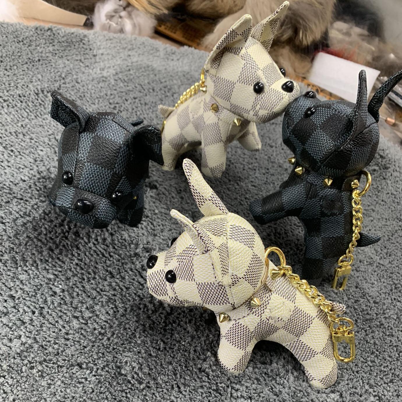 Hide Substance Keychain Men's Women's Puppy Key Chain Pendant Method Dogfighting Pendant Car Key Pendants