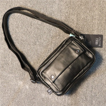 Korean Zipper Men Shoulder Bag Casual Minimalist Strap Crossbody Mini Shoulder Bag Fashion Bolsos Para Hombre Mens Bag DE50NDJ