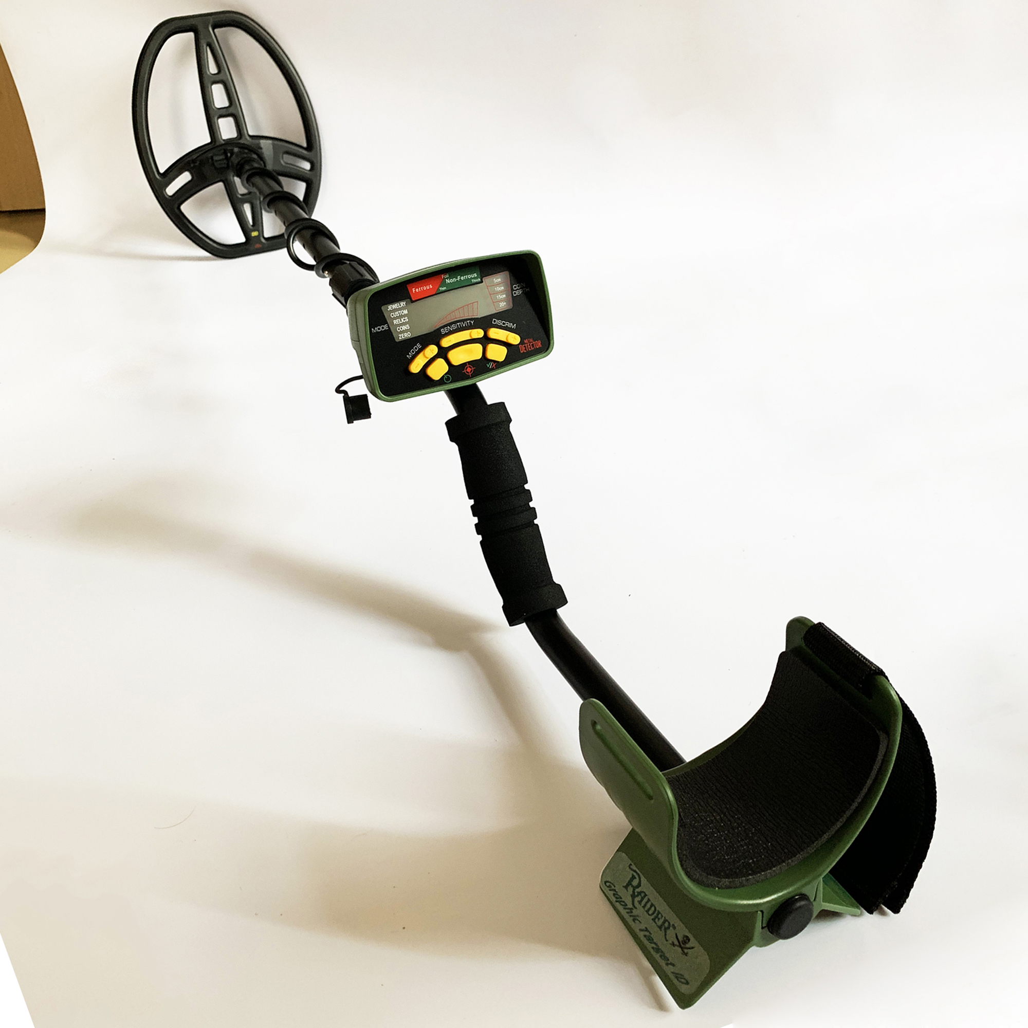 Underground Metal Detector <font><b>MD6350</b></font> Gold Detectors MD-6350 Treasure Hunter Gold Detector Circuit Metales Seeker Pinpointer image