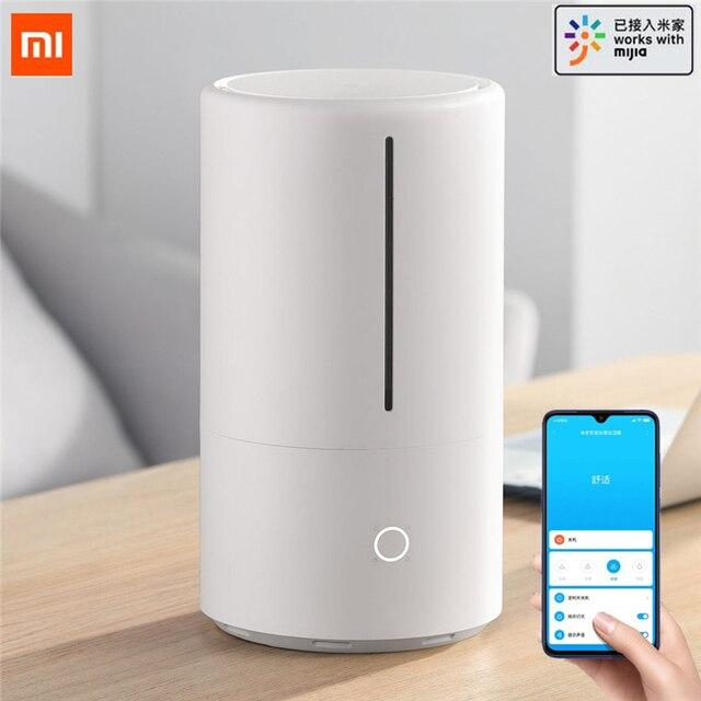 XIAOMI humidificador esterilizador ultrasónico inteligente mijia, esterilización germicida UV para el hogar, funciona con la aplicación Mijia, 4,5l