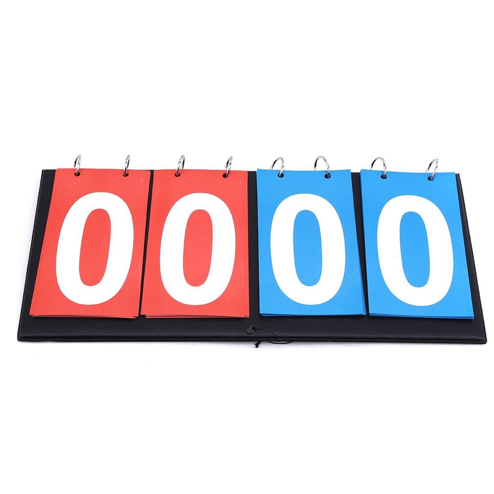 1pc Digital Tabletop Sports Scoreboard For Football Volleyball Basketball Supplies