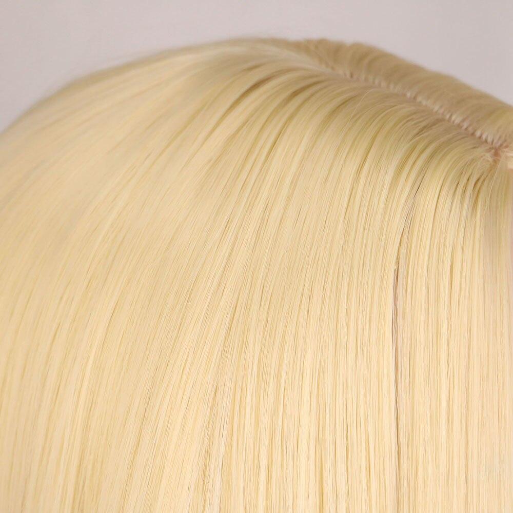 fibra perucas de cabelo sintético