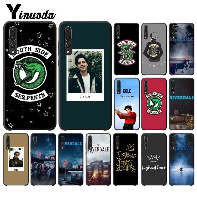 Yinuoda Amerikanischen <font><b>TV</b></font> Riverdale Jughead <font><b>Jones</b></font> Telefon Fall für Huawei P9 P10 Plus Mate9 10 Mate10 Lite P20 Pro Honor10 view10 image