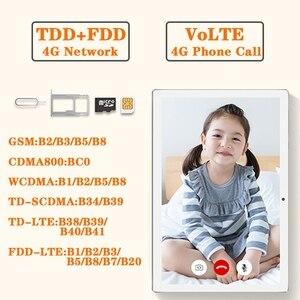 Image 4 - Teclast M30 10.1 inch 2560 x 1600 4GB RAM 128GB ROM Android 8.0 Tablet PC MT6797 X27 Deca Core Dual 4G Phone Tablets 7500mAh GPS