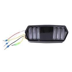 Motocykl sygnał hamulca światłu stopu wskaźnik działania zintegrowane światła sygnalizacyjne dla Msx125 Cbr650F Ctx700 Ctx700N Yg125
