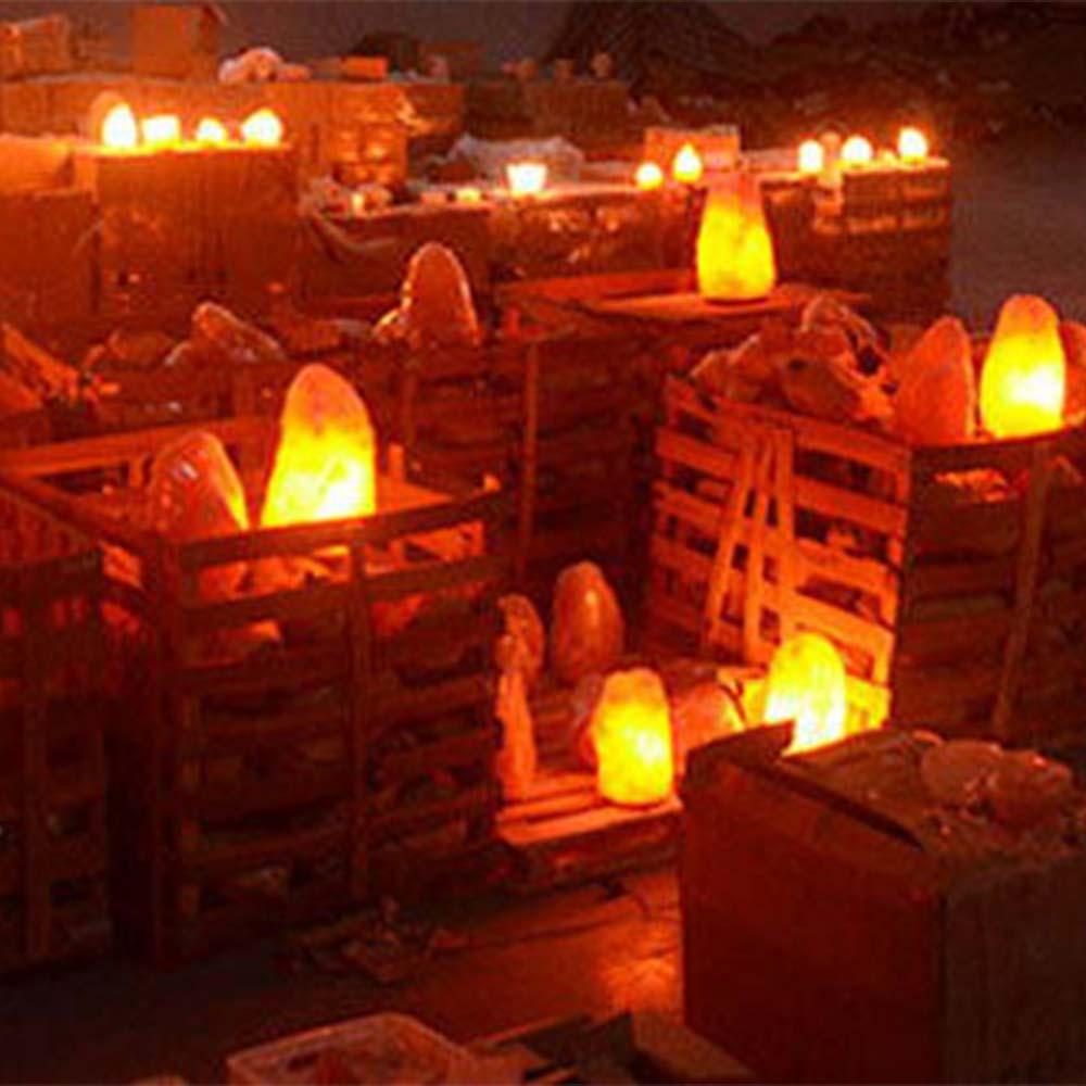 Crystal Creative Night Light Bedroom Home Decor Personality Perfect Gift Himalayan Salt Lamp Lighting Brightness